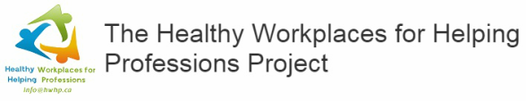 The Healthy Workplaces for Helping Professions Project